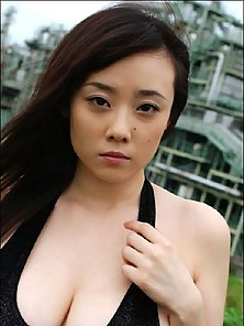 Smoking hot sexy pics of Kaoru Sakurako showing her big tits