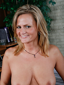 Horny blonde milf gets pounded