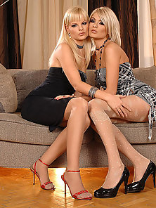 Jasmine Rouge and Nancy Bell
