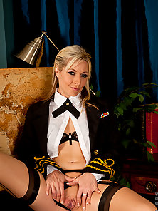 Anilos Sophie Kaye gets horny and wet while playing dress up