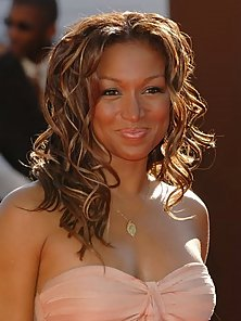 The gorgeous Chante Moore and her sexy body in various gowns