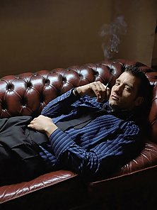 Sexy fashion pics and movie stills of Hollywood stud Clive Owen