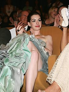 Ann Hathaway at all pose looking great and sexy all the time