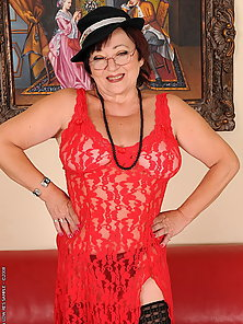 This granny seems shes as horny as she used to be