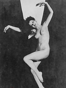 Nude vintage ladies showing their natural and fine bodies