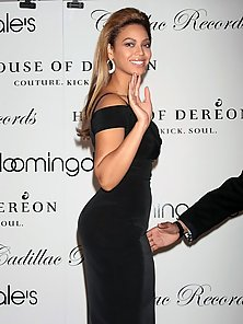The bootylicious diva Beyonce and her very hot curvaceous body