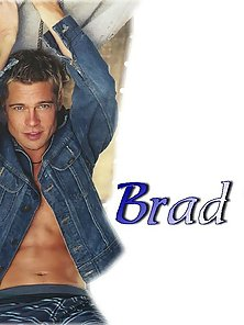 Glamour and paparazzi pics of Brad Pitt and his hot bod