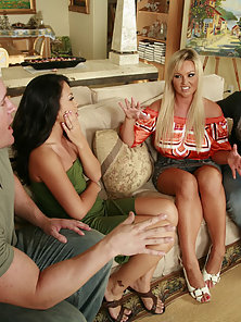 Appealing Horny Friends Get Banged in Their Hungry Twats by Lovers