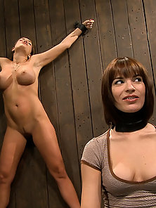Dana DeArmond and Nika Noire in hardcore BDSM