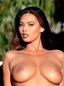 Tera Patrick fucked hard by two guys