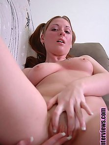 Sexy brunette gets turned on by other people getting off on her