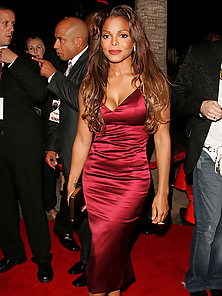 Janet Jackson wearing her crazy and sexy concert outfits