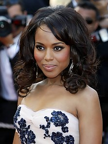 Gorgeous Kerry Washington in sexy designer outifts