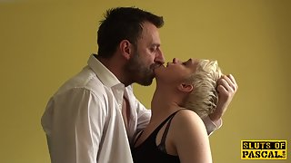 Short Hair Blonde Hooker Gets Fingered and Deep Railed in POV