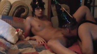 Horny Couple New Year Hot Sexy Time on Cam