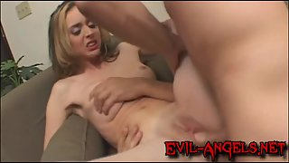 Kelly Wells brutally double anal fucked