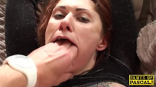 Busty Babe Getting Ass Fucked Till Facialized