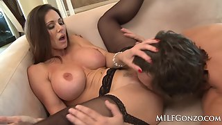 Busty MILF Kendra Lust Being Fucked by Hard Stud