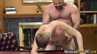 Two Dashing Guys Strips then Got Each Other Ass Hole Slammed