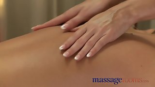 Massage Rooms Busty Mature Woman Oiled by Teen Blonde