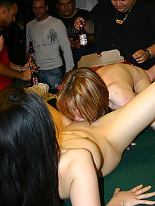 Lusty babe welcomes a warm facial cum shot