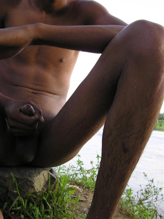 Latino Boy Swimming In The River Naked And Jack - Sex Oasis-9626
