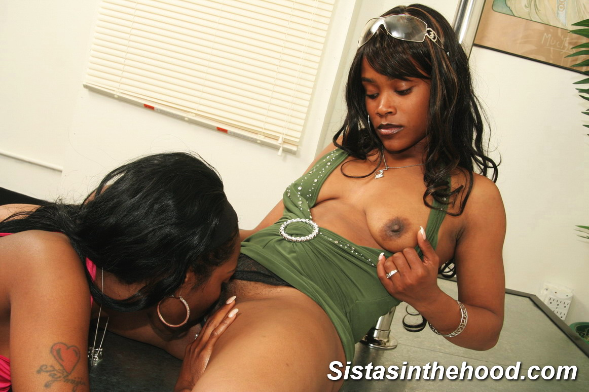 Two Horny Black Lesbian Sluts Using Sex Toys On Each Other