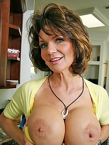Big titted mom Deauxma getting her anal ripped by big cock