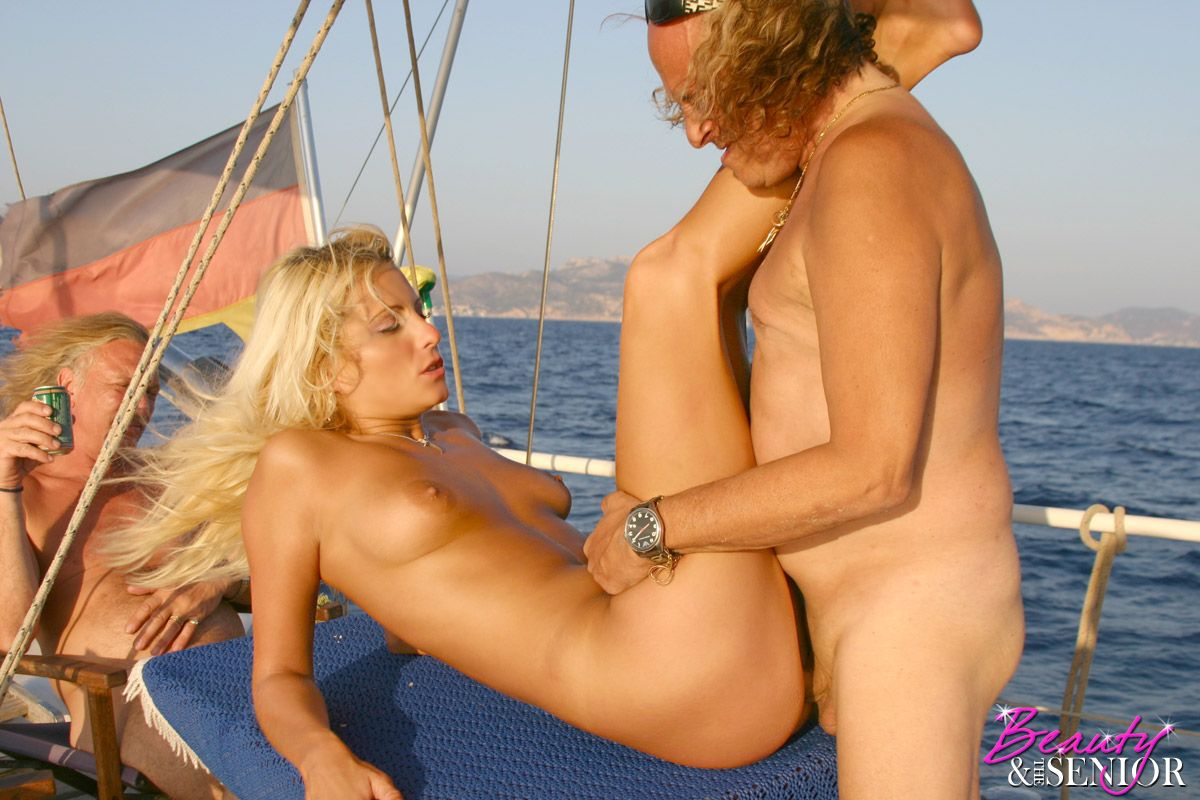 Young sex on boat