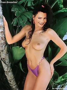 Fran Drescher huge tits exposed and her other bare naked photos