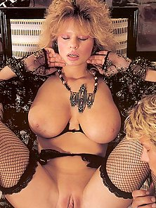 Big titted retro lady loves a cumload