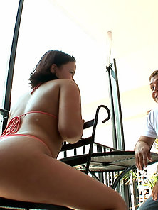 Wonderful Babe Madison Gives Blowjob and Gets Licked In Riding Position