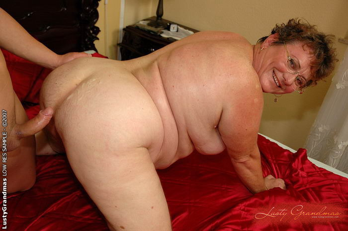 Old fat granny sex