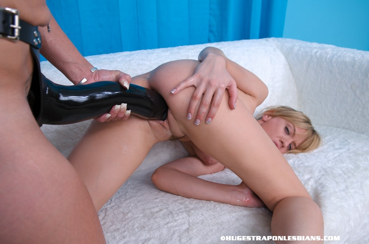 Black Dildo Action