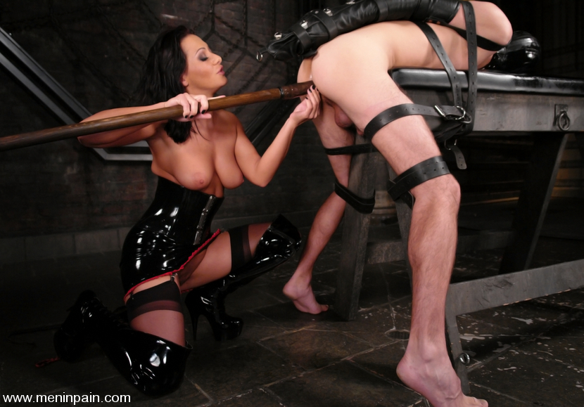 Mistress Fucks Slave Boy