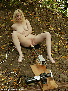Cowgirl does some outdoor scenes with a couple of machines.