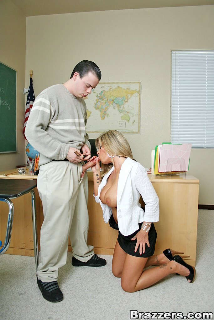Teacher Fucks Bad Student