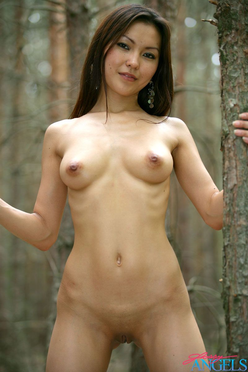 Nude sweet asian