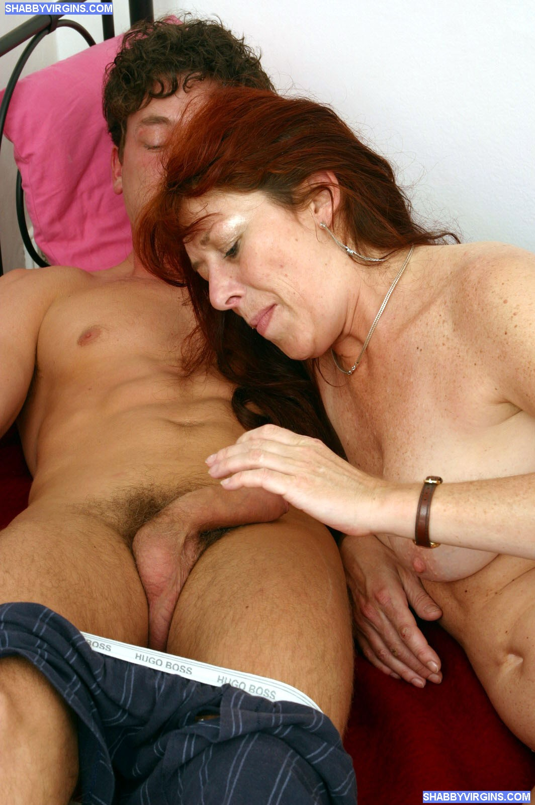 Mature Woman Fucked Young Stud