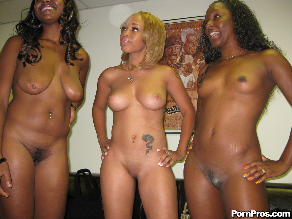 black group nude