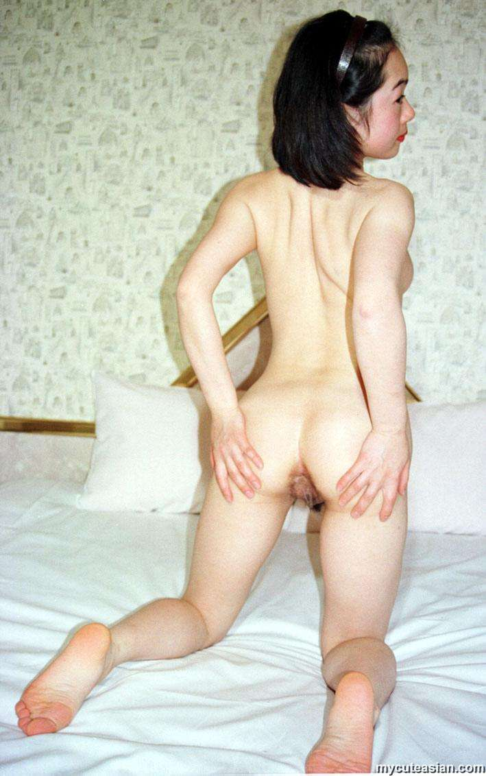 Asian wife spread Amateur pussy