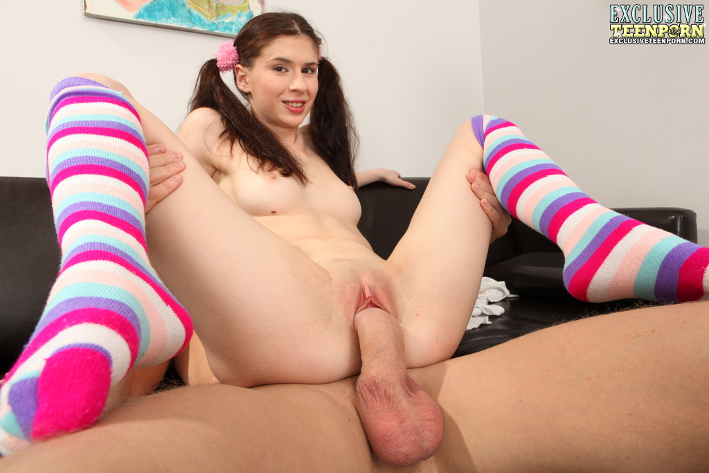 Striped Socks Porn