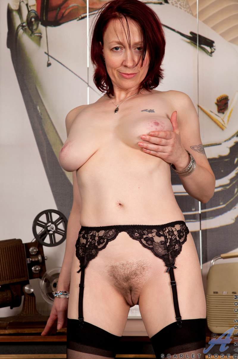 Mom Next Door Reveals Hairy Pussy And Tasty Natural Tits -8121