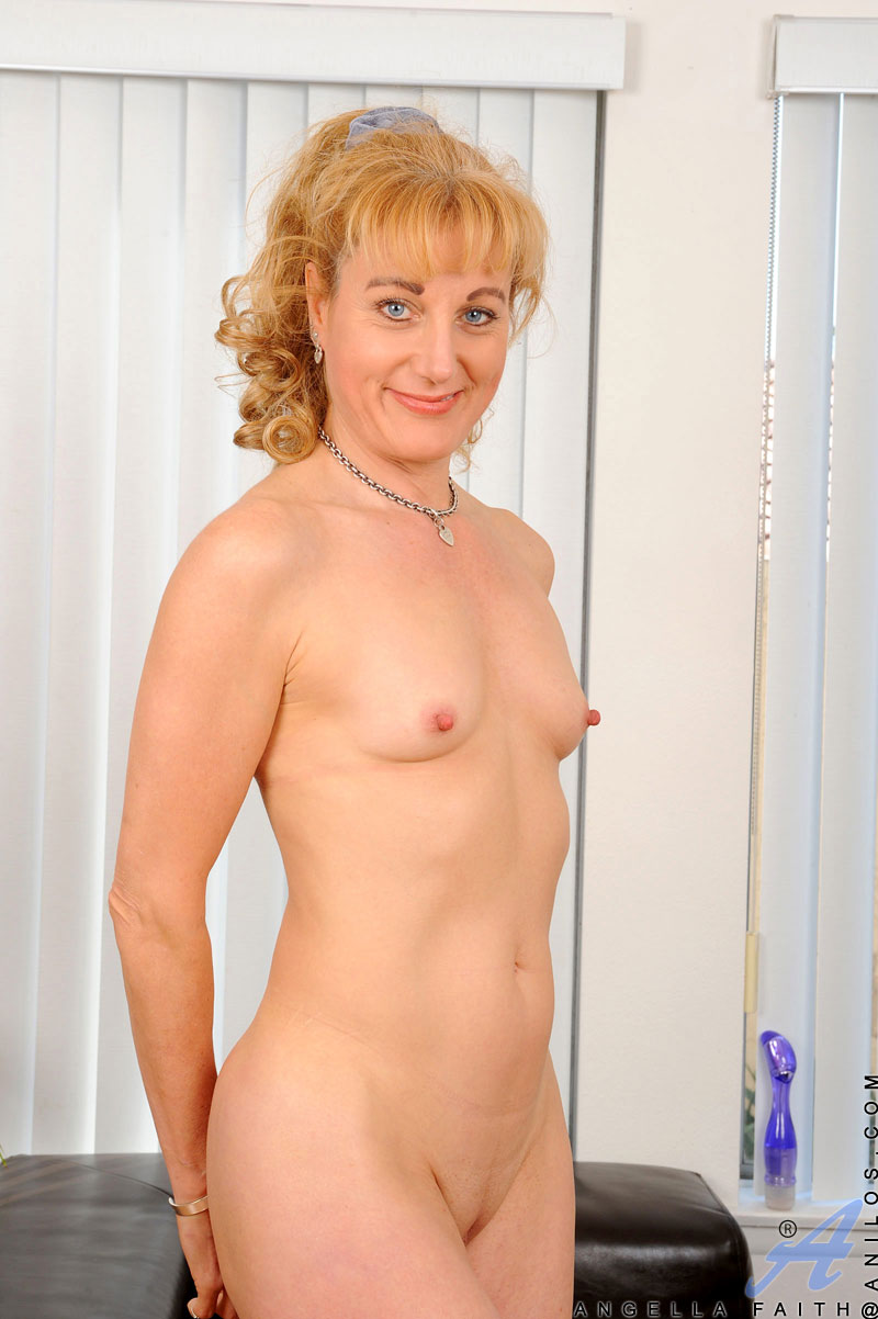 Mom flat naked chested