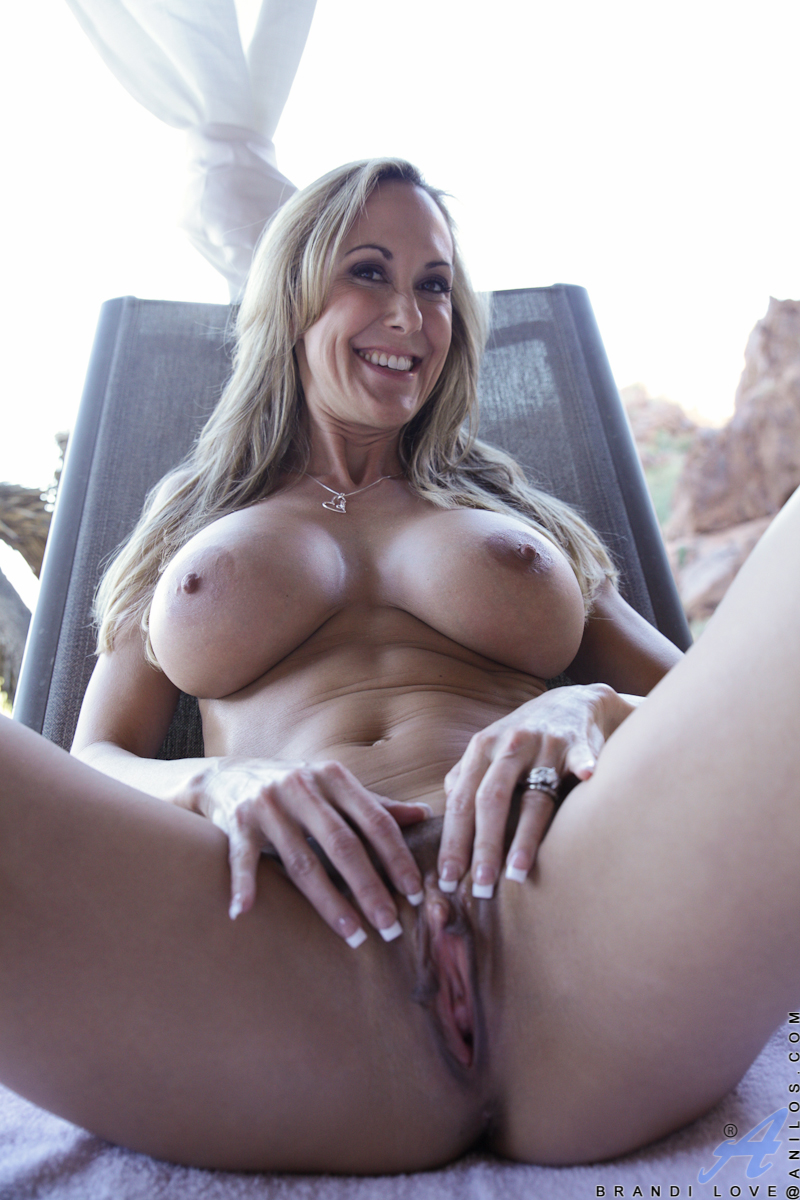 Brandi Love Throat Fuck
