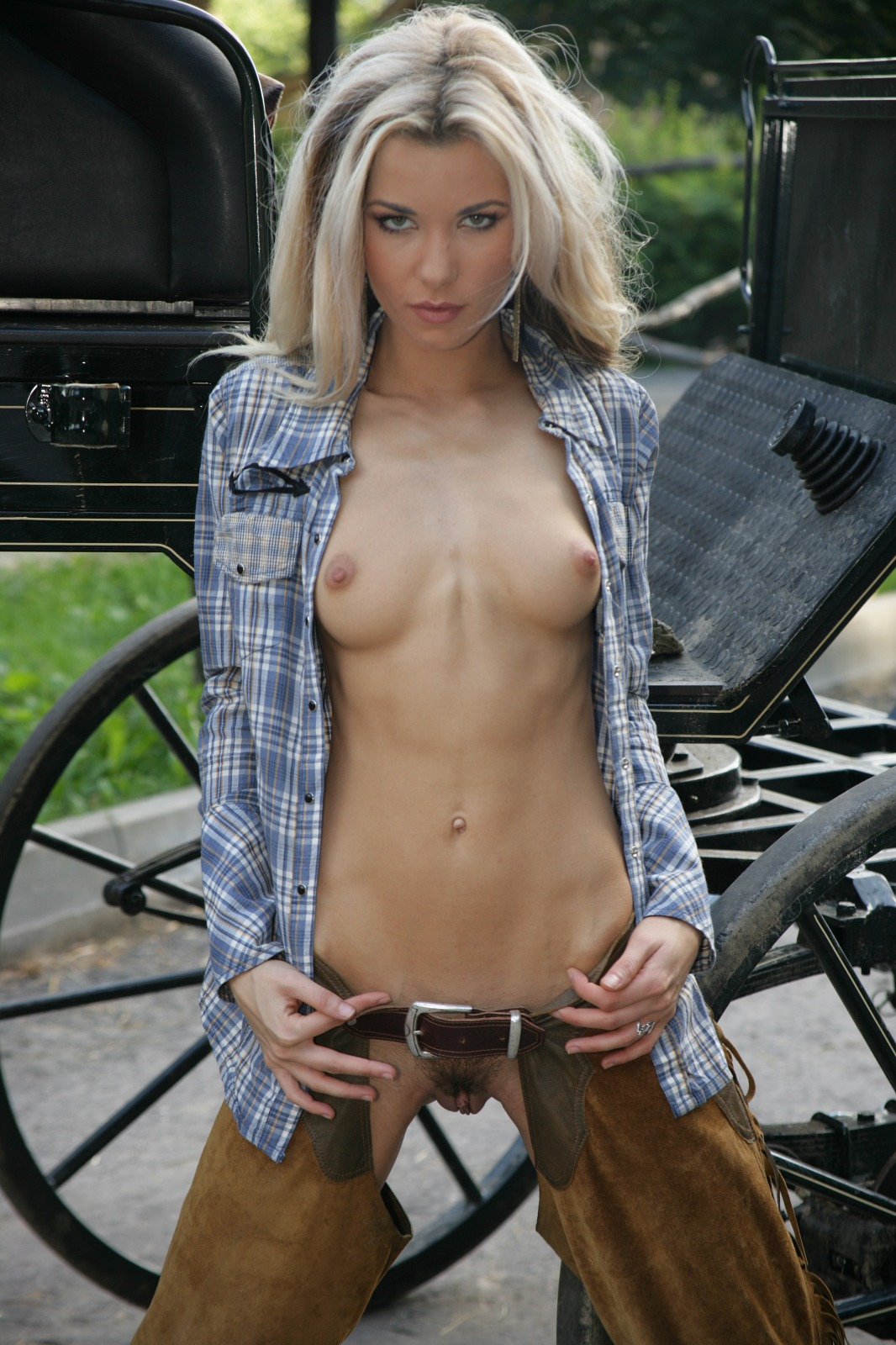 Check Out This Hot Naked Cowgirl - Sex Oasis-4260