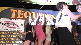Hottest Girls and Their Dudes Dance on Stage