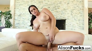 Hottest Lady Alison Tyler Slammed by Her Dude in Doggy Style