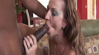 Hottest Lady Takes Big Dick of Her Partner in Shaved Twat