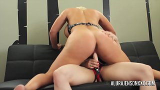 Round Ass Babes Alura Jenson and Brandi Mae Licked Their Cunts